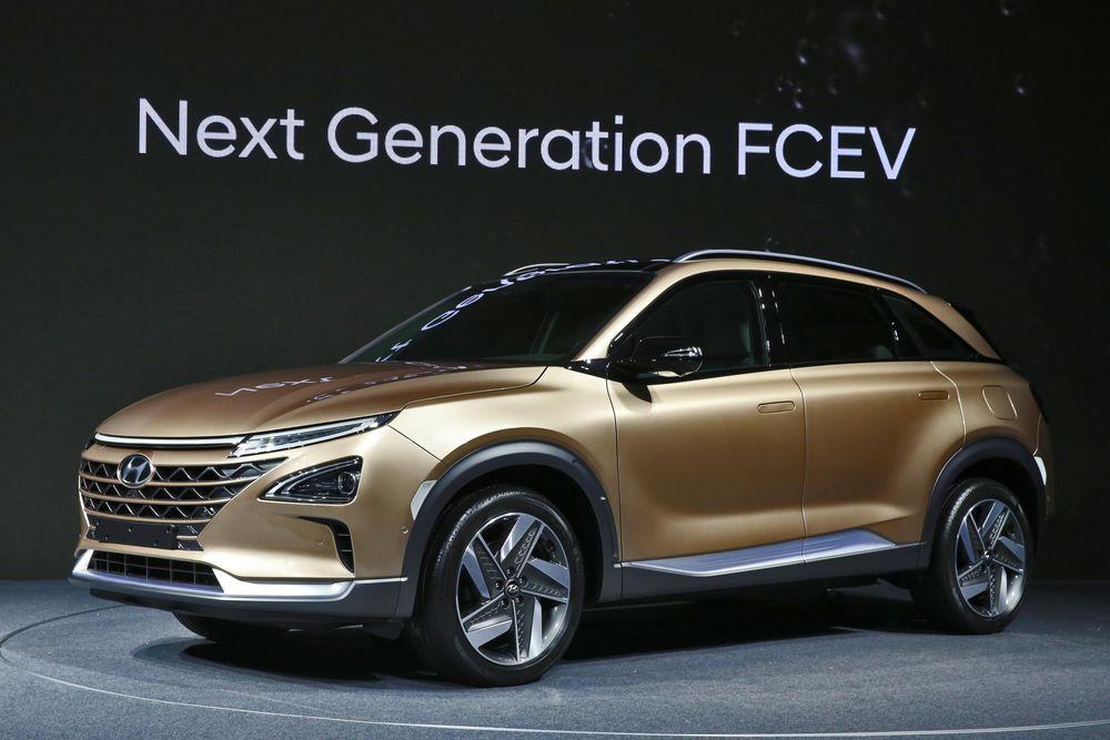 Hyundai esitles uut vesinikku tarbivat maasturit