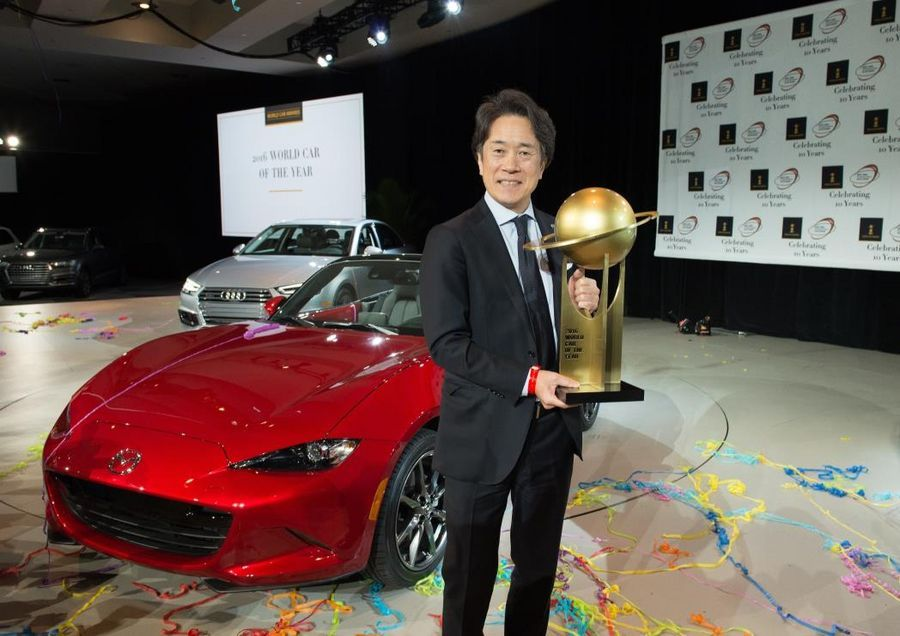 World Car of the Year on Mazda MX-5