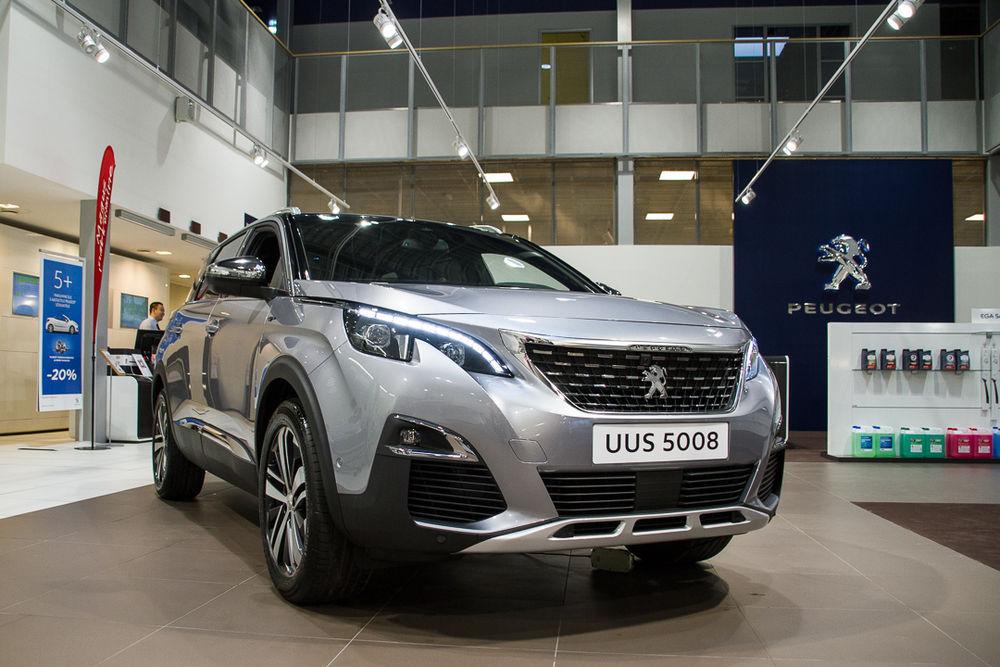 Uus Peugeot 5008 on kohal