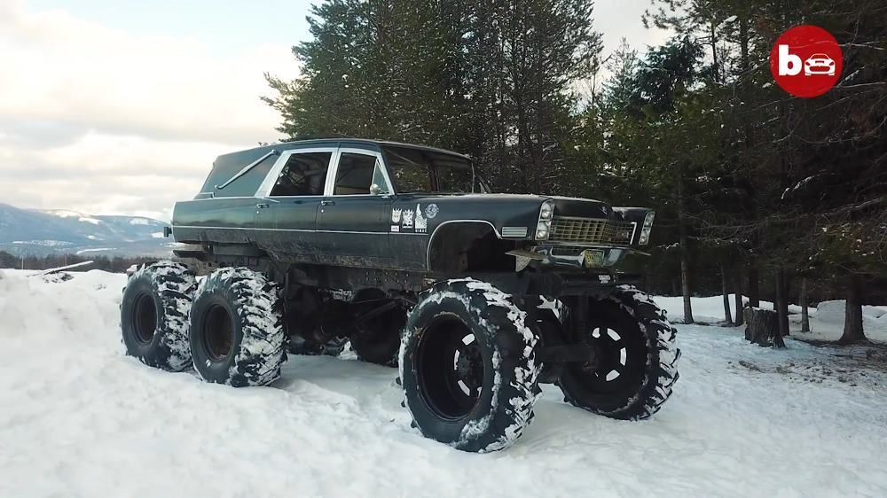 VIDEO: Mortis The 6x6 Monster Hearse