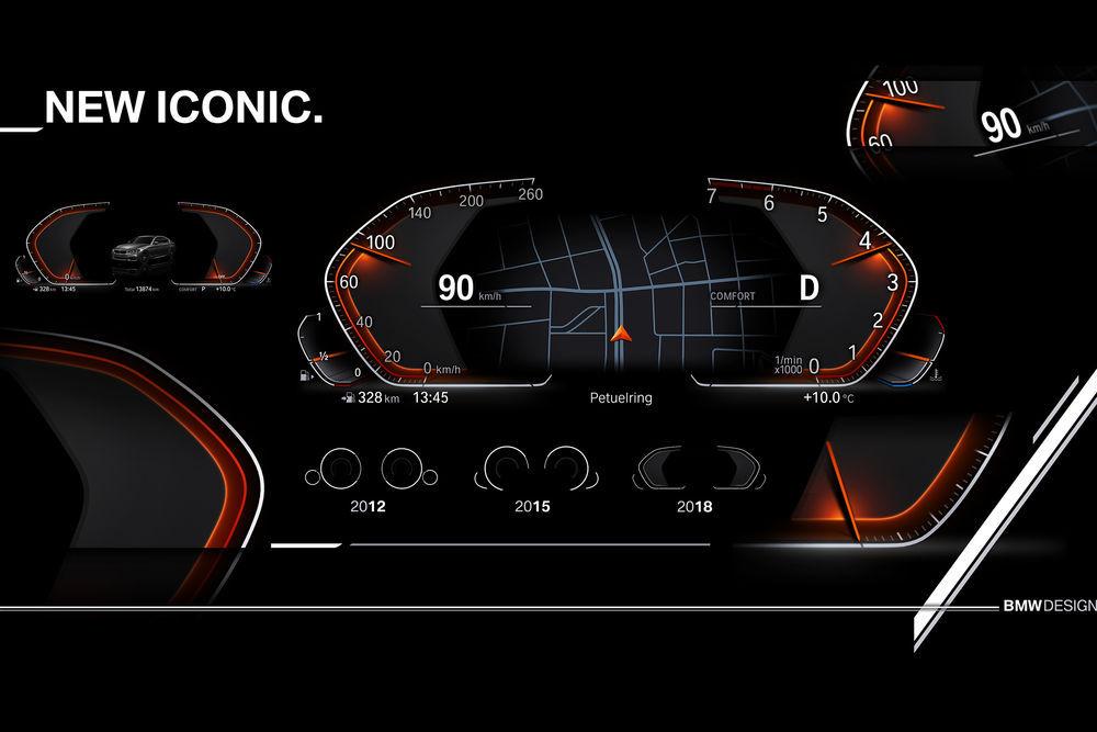 BMW võtab kasutusele virtuaalsed näidikud
