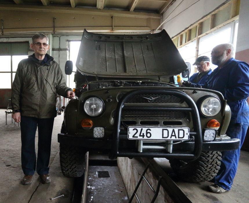 Eesti mees alustas Uazi roolis teekonda Vladivostokki