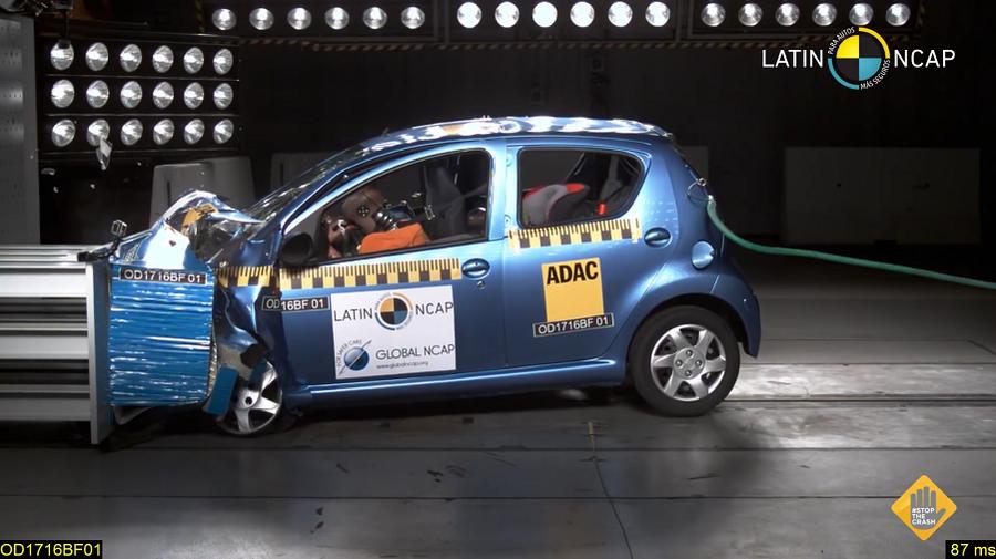 Latin NCAP tunnistas kaks autot ebaturvaliseks