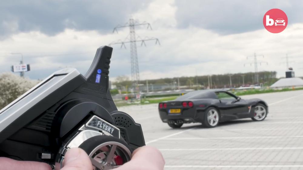 Hollandlane ehitas raadio teel juhitava Corvette