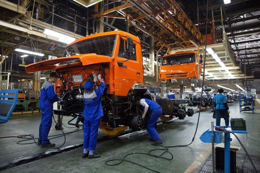 Kamazi möödunud aasta kahjum oli 2,4 miljardit rubla