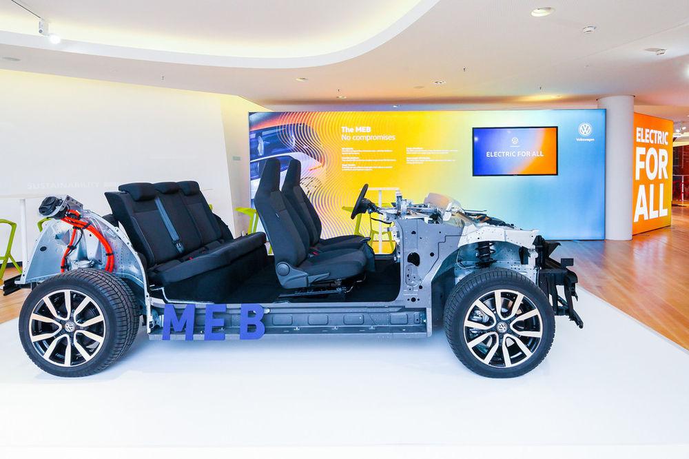 VW tutvustas elektriautodele mõeldud veermikku
