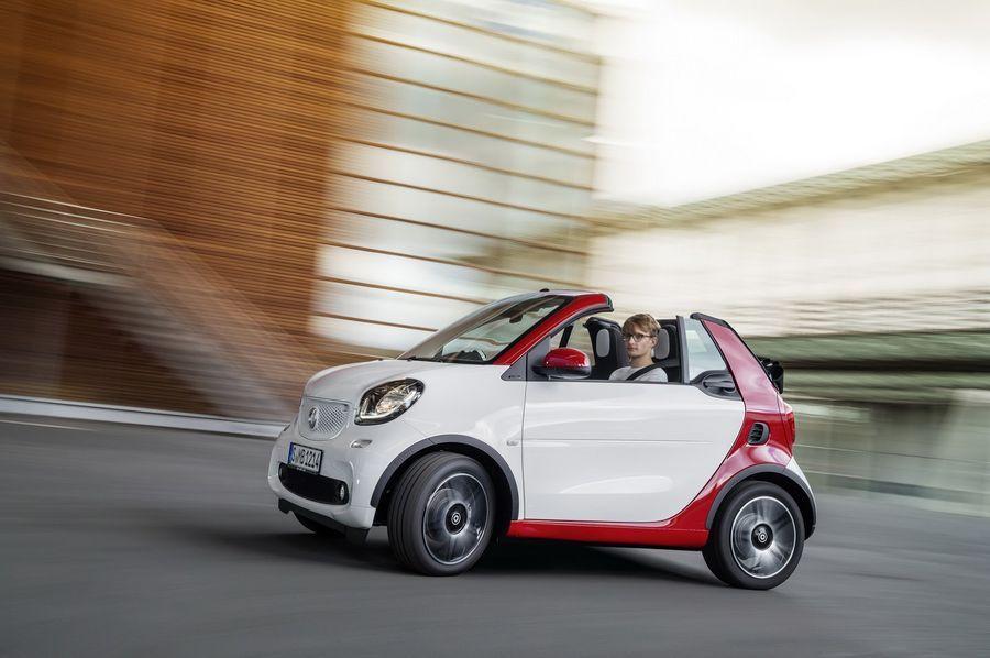 Smart ForTwo on peagi saadaval ka kabrioletina