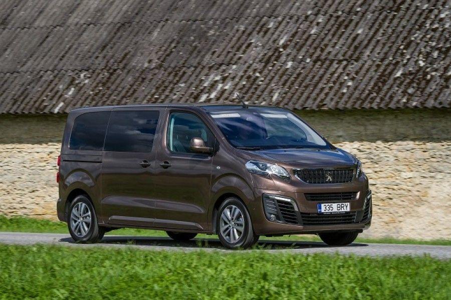 Peugeot' noobelbuss Traveller