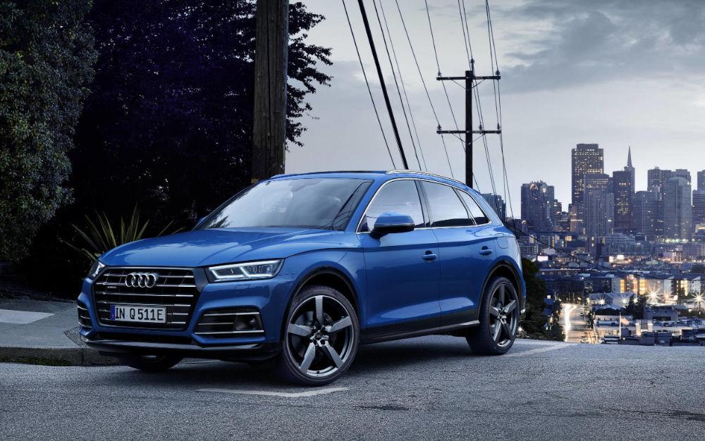 Audi muutis džiibi Q5 hübriidiks