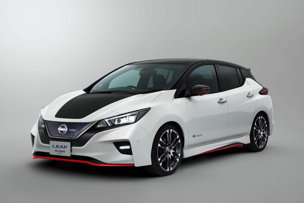 Nissan Leaf Nismo konverteerib elektri sõidunaudinguks