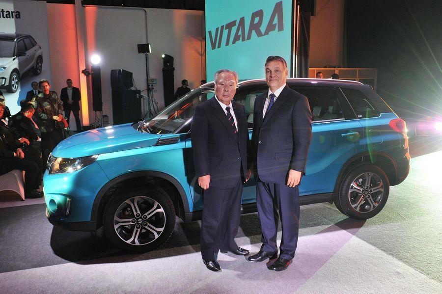 Ungaris tähistati uue Suzuki Vitara seeriatootmise algust